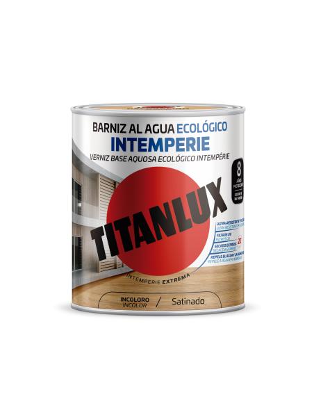 TITANLUX BARNIZ AL AGUA ECOLOGICO INTEMPERIE M25 - Imagen 1